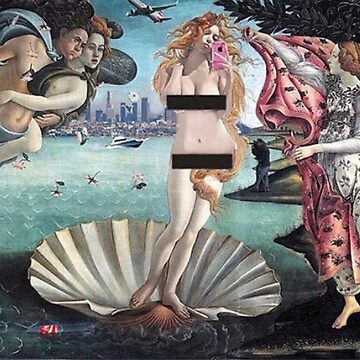 The birth of Venus  by Chronos82