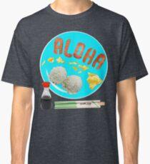 Aloha Eggs Spam Rice Shoyu Chopsticks Breakfast Tshirt Classic T-Shirt