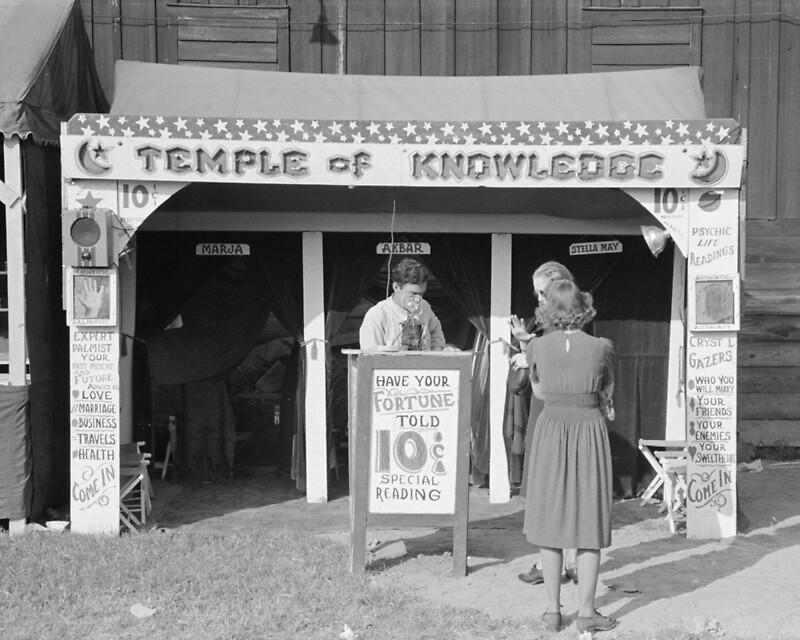 """Carnival Fortune Teller, 1938. Vintage Photo"" by historypho"