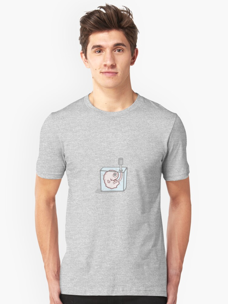 fetus in a box Unisex T-Shirt Front
