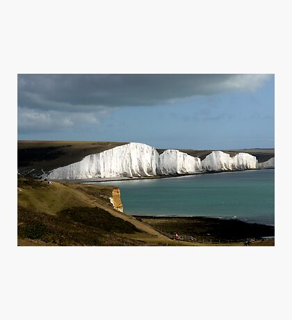 Hope Gap & the Seven Sisters Photographic Print