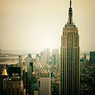Empire State Building New York Cityscape by Vivienne Gucwa