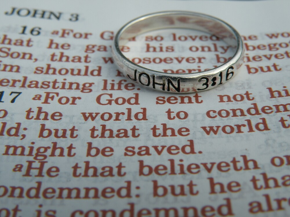 JOHN 3:16 by Nokie