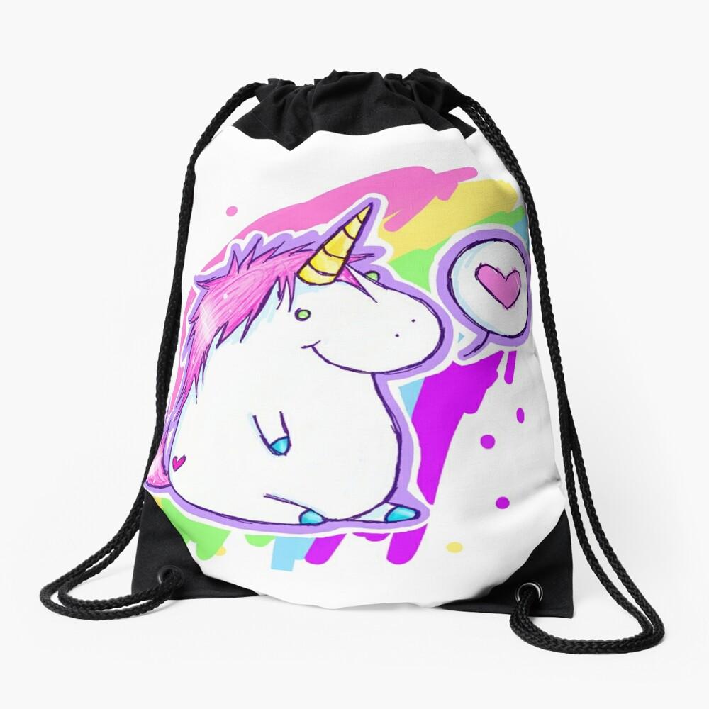 Unicornio Mochila saco