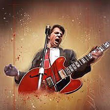 The Guitar man 1 by serbandeira