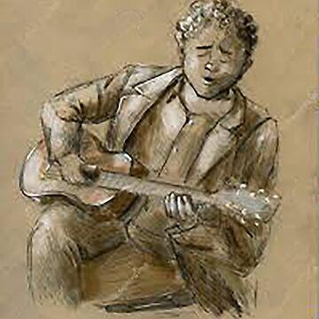 The Guitar man  by serbandeira