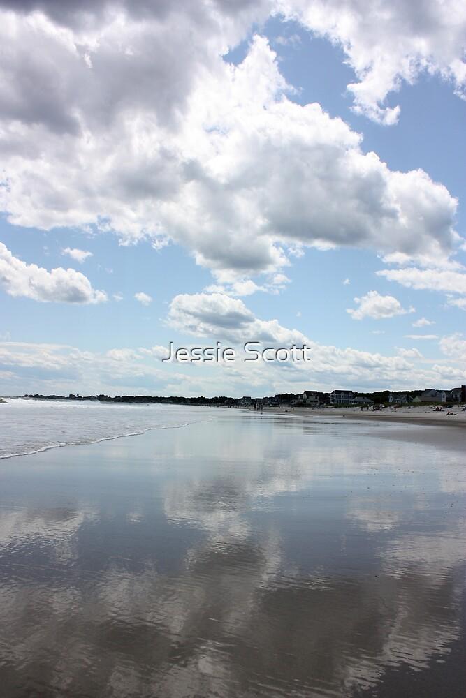 Cloudy Reflections by Jessie Scott