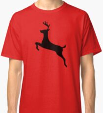 Leaping Deer Buck Silhouette Classic T-Shirt