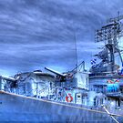 USS Cassin Young by Jack DiMaio