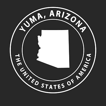 Yuma Arizona Souvenirs AZ Emblem by fuller-factory