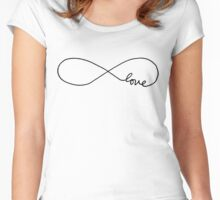 Infinite Love Women's Fitted Scoop T-Shirt