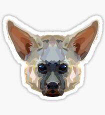 Topographic: Aardwolf Sticker