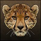Topographic: Cheetah by NoelleMBrooks