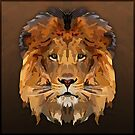Topographic: Lion by NoelleMBrooks