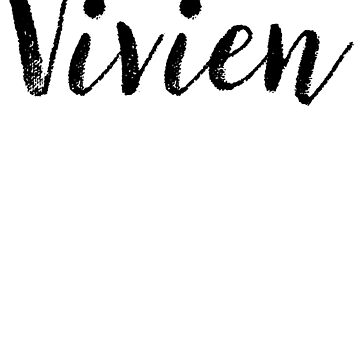 Vivien - Custom Girl Name Gifts by stamaigra