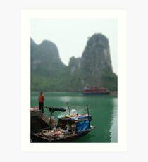 Halong Bay, Vietnam Art Print