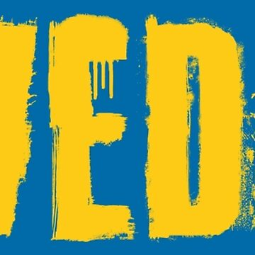 Sweden Grunge Typography Yellow by Chocodole