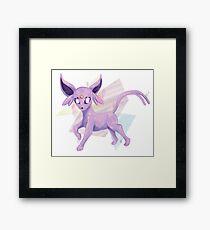 Lavender Crystal Framed Print