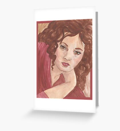 Sylvia Sidney Greeting Card