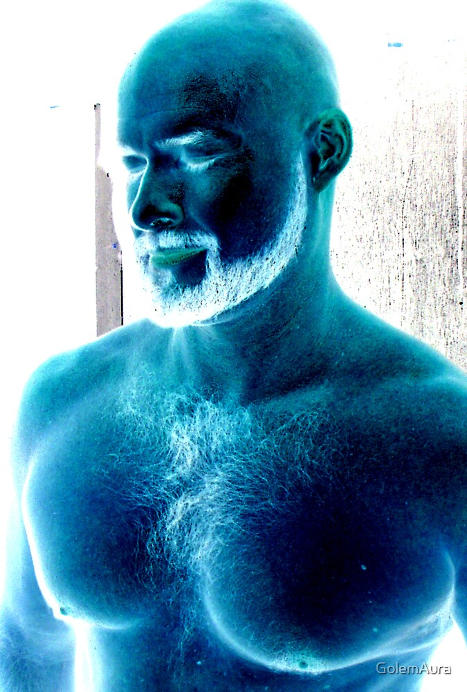 The Blue Man by GolemAura