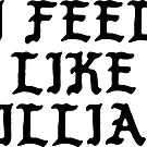 I Feel Like Lillian - Funny PABLO Parody Name Sticker by audesna