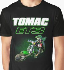 Motocross and Supercross Champion Eli ET3 Tomac Graphic T-Shirt