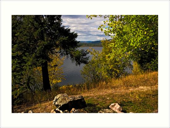 SALMON LAKE 1 by Bryan D. Spellman