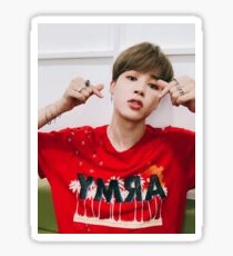 Jimin's Hearts Sticker