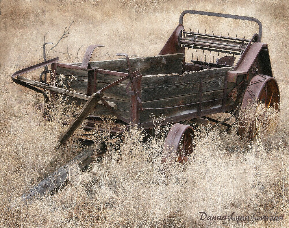 Old Wagon by Danna Lynn Cruzan