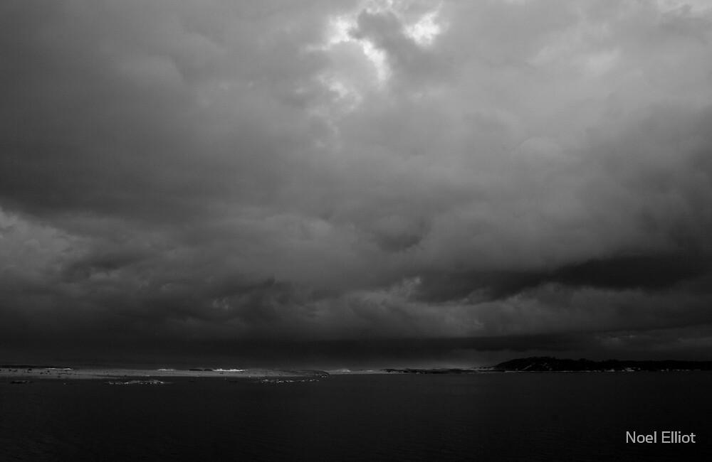 Storm Over Lake Wollumboola by Noel Elliot