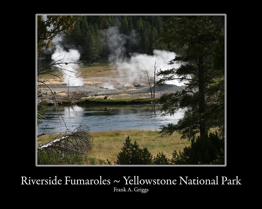 Riverside Fumaroles by FrankGImages
