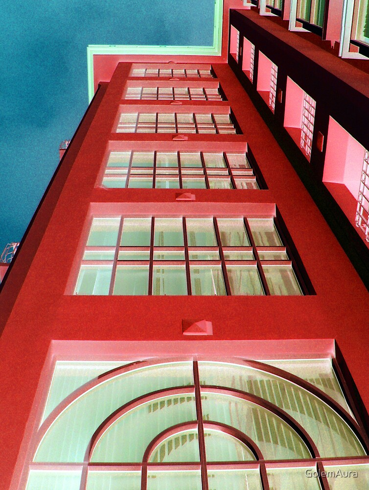 Tower 888 In Red by GolemAura