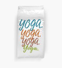 Yoga - Yoga - Yoga for Yoga Fan Duvet Cover