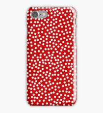 Classic Baby Polka Dots in red. iPhone Case/Skin