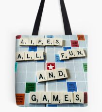 Life's all fun and Games Tote Bag
