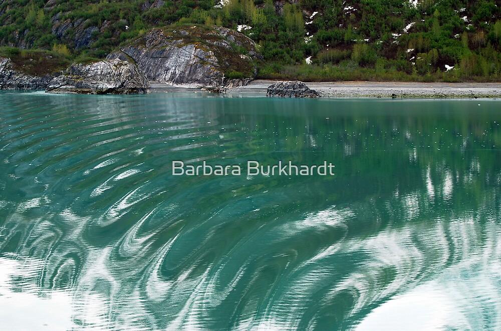 Rudder Shudder - Glacier Bay Alaska by Barbara Burkhardt
