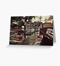 WET Street Greeting Card