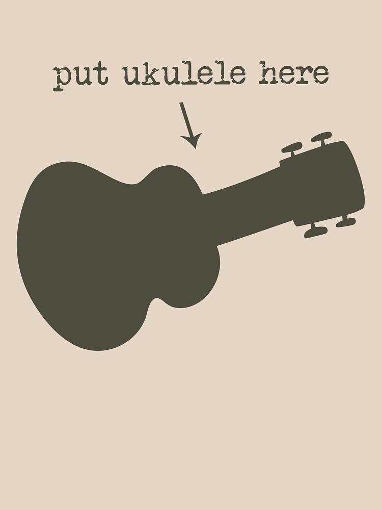 Put Ukulele Here by Milgi
