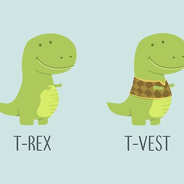 T Rext Dino Fashion by AnishaCreations