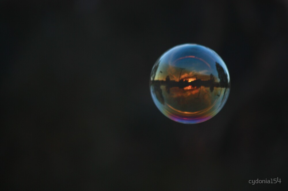 Relections in bubble #2 by cydonia154