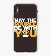 May The Source Be With You - Tux Edition iPhone Case