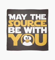 May The Source Be With You - Tux Edition Scarf