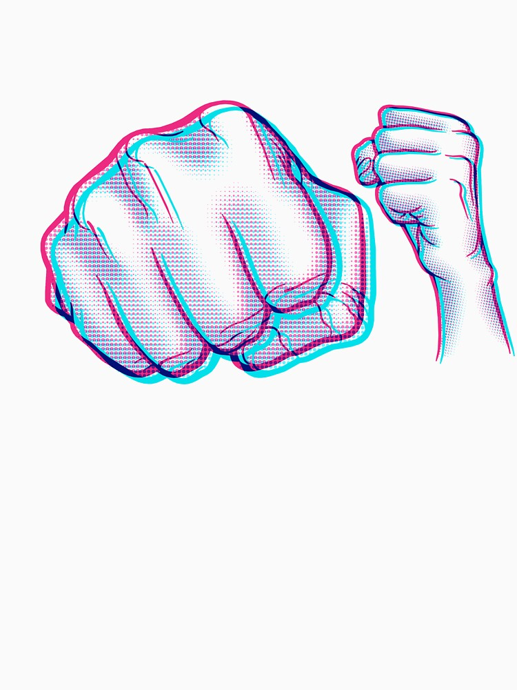 POW! Anaglyph by rubyred