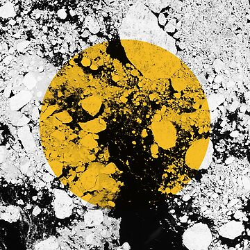 Mustard and texture graphic  by modoki