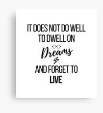 Träume Leinwanddruck