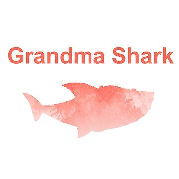 Grandma Shark Inspired Silhouette by InspiredShadows