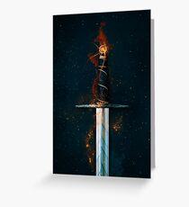 Magic Sword No 1 Greeting Card