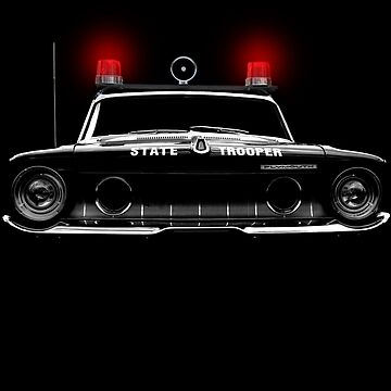 plymouth - state trooper, black shirt by hottehue
