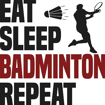 Funny Badminton T-Shirt - Cool Funny Nerdy Comic Graphic Badminton Player Men's Team Coach Team Humor Saying Sayings Shirt Tee Gift Gift Idea by melia321