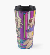 Pillow Fight Travel Mug